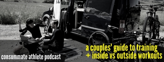 a couples' guide to training + inside vs outside workouts