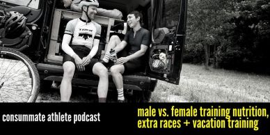 NEW male vs. female training nutrition, extra races + vacation training (1)