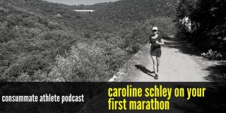 caroline schley on your first marathon