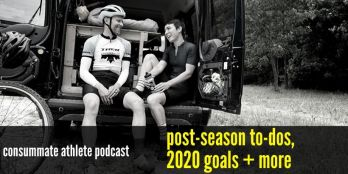 post-season to-dos,  2020 goals + more