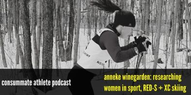 anneke winegarden_ researching women in sport, RED-S + XC skiing