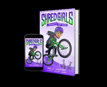 shred girls book image