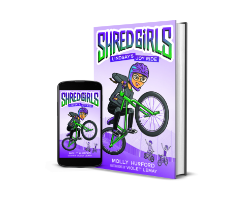 shred girls book image