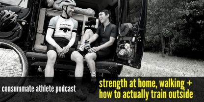 strength at home, walking + how to actually train outside